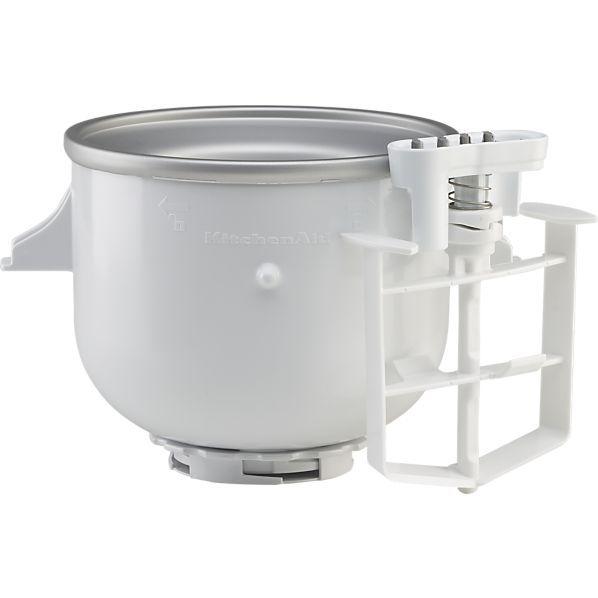 Kitchenaid Stand Mixer Ice Cream Maker Attachment My
