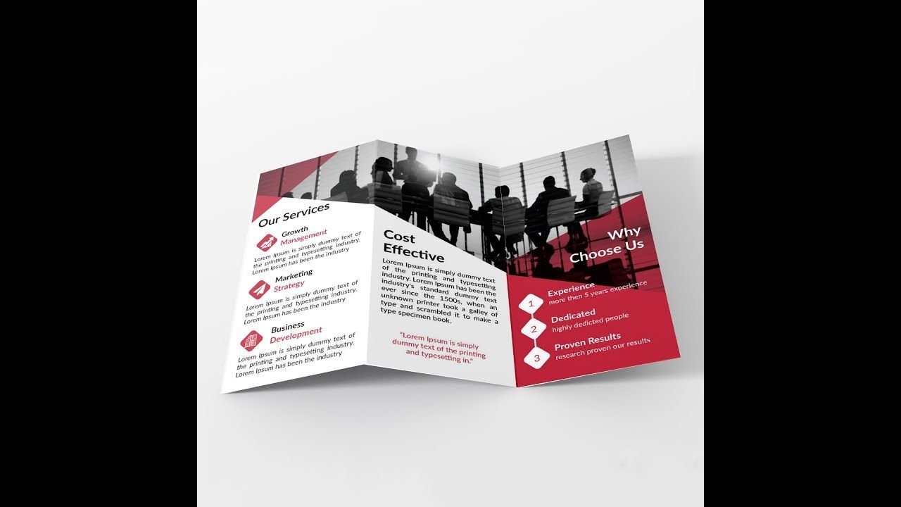 How To Make Tri Fold Brochure Layout In Adobe Illustrator Bangla Throughout Brochure Templates Ado Trifold Brochure Template Brochure Layout Trifold Brochure
