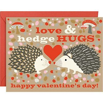 Who can resist a hedgeHUG?