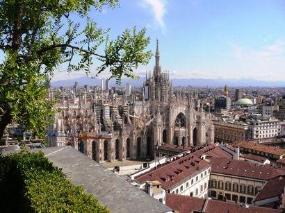 a view from the terrazza Martini Milano  milano milan