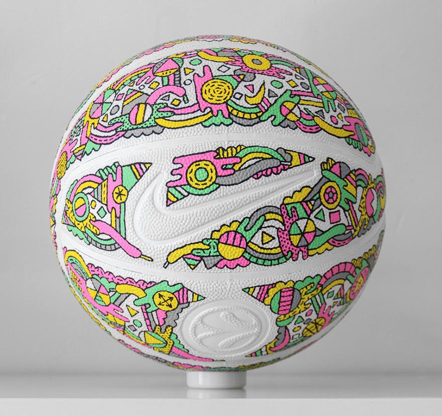 Basketball Painting, Nike Basketball