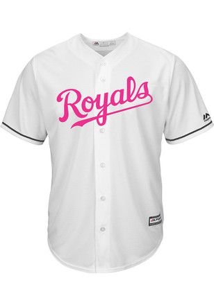Kc Royals Mens Majestic Replica 2017 Mother S Day Jersey Jersey Mother Mothers Day