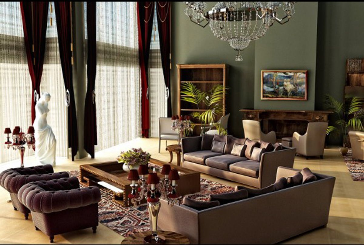 Design A Contemporary Living Room  Living Rooms Room And Cool Gray And Brown Living Room Ideas Design Inspiration