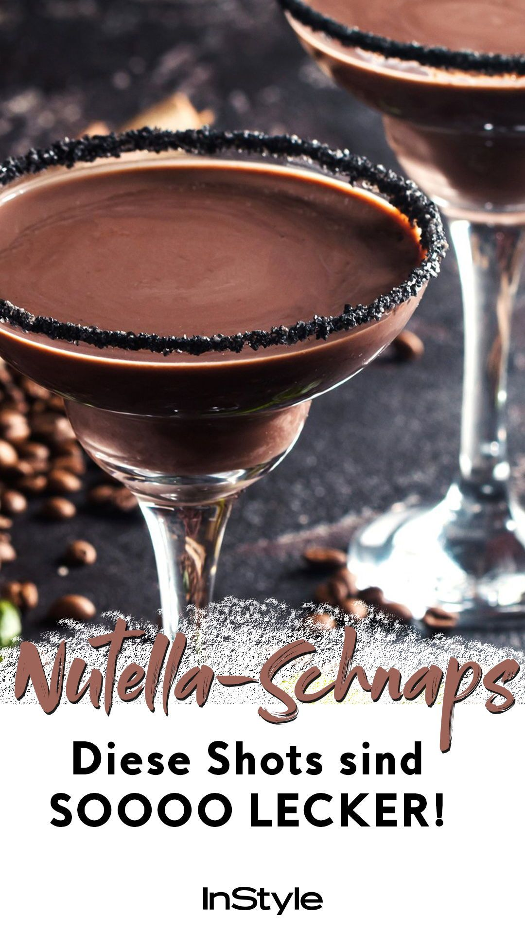 Genial: Nutella-Schnaps gibt's wirklich – das Rezept zum Selbermachen hier! #nonalcoholicbeverages