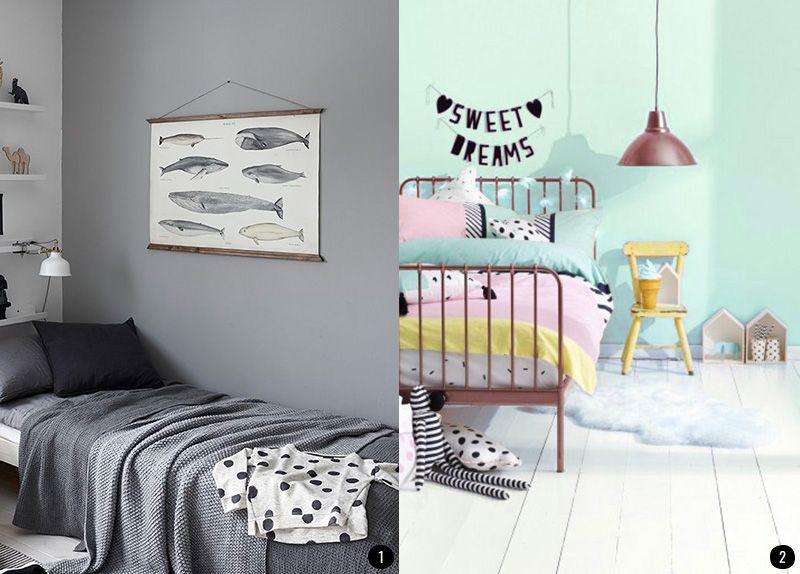 decorar la pared de una habitacin infantil actualiza la habitacin de los nios con estilo - Decoracion Paredes Habitacion