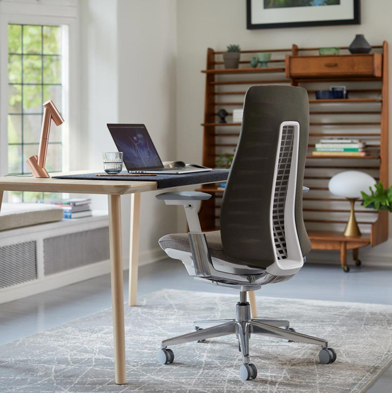 Office Chair With 4d Arms
