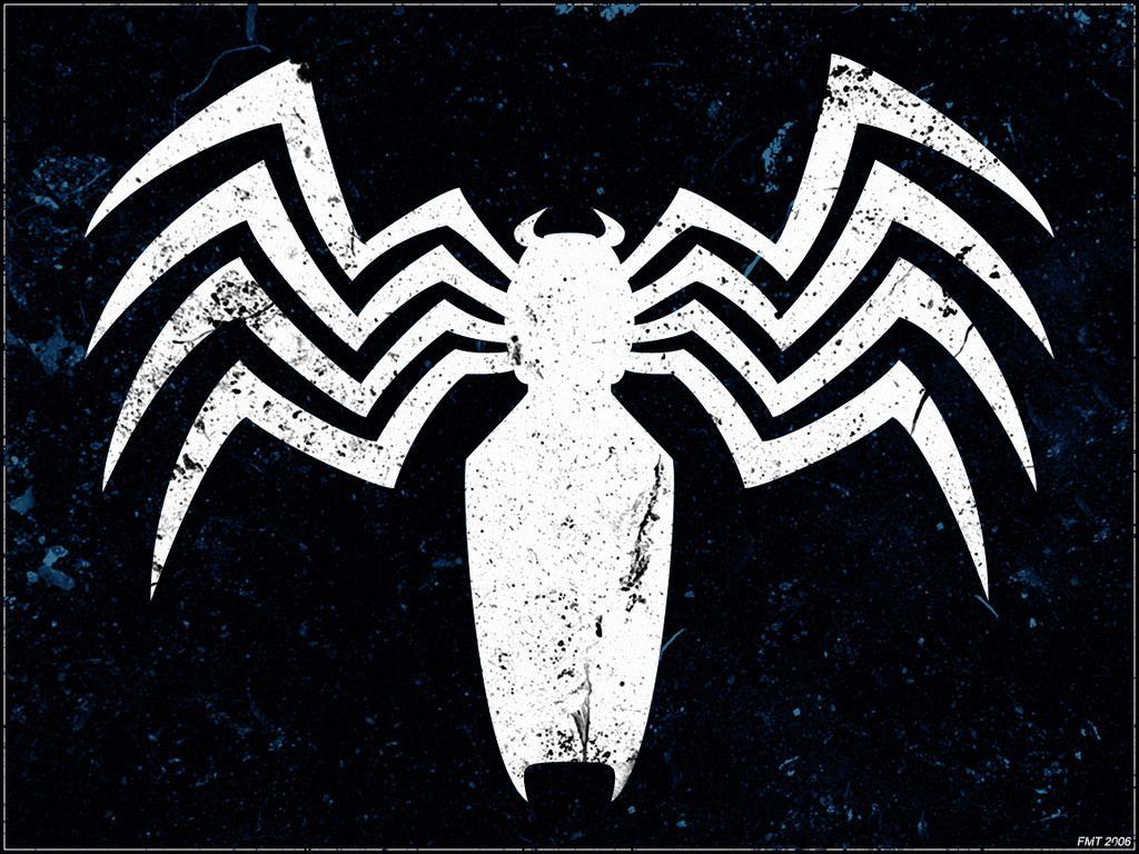Black Marvel Comics Spider-Man Spider-man Logo Venom Wallpaper ...