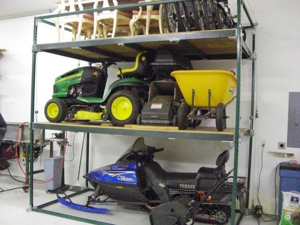 Strut N My Stuff Boat Shed Garage Storage Garage Organization