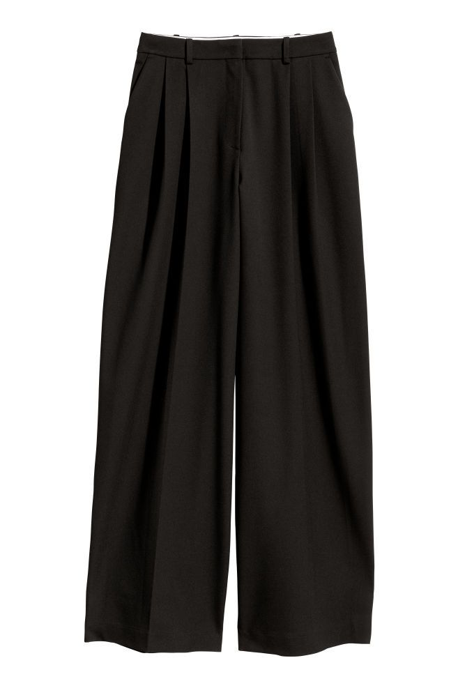 h m широкие брюки женские