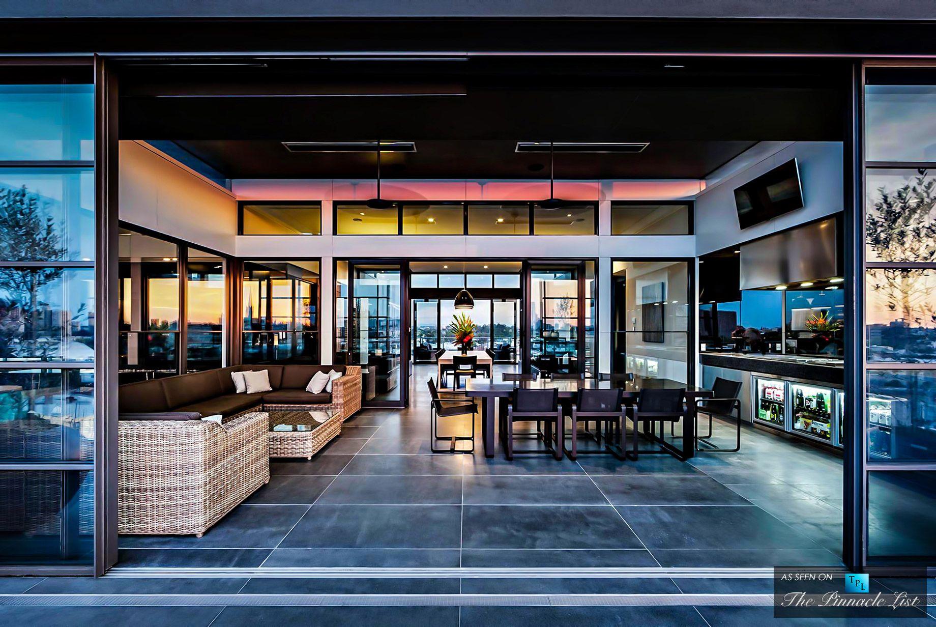 Cubo Penthouse 59 Coppin Street Richmond Melbourne Victoria Australia Luxury Penthouse House Design Architect