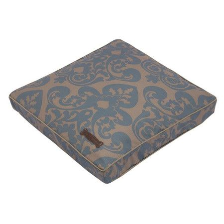 Cotton Blend Dog Bed With A Damask Motif Product Dog Bed