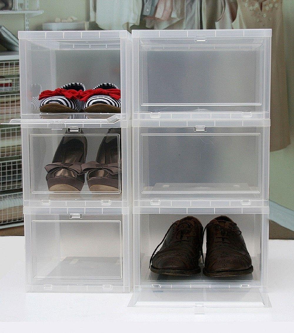 Iris Drop Front Shoe Box Canada
