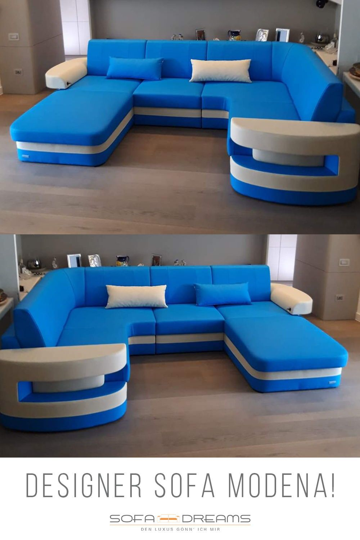 Stoff Wohnlandschaft Modena In 2020 Wohnen Wohnzimmer Gemutlich Sofa Design