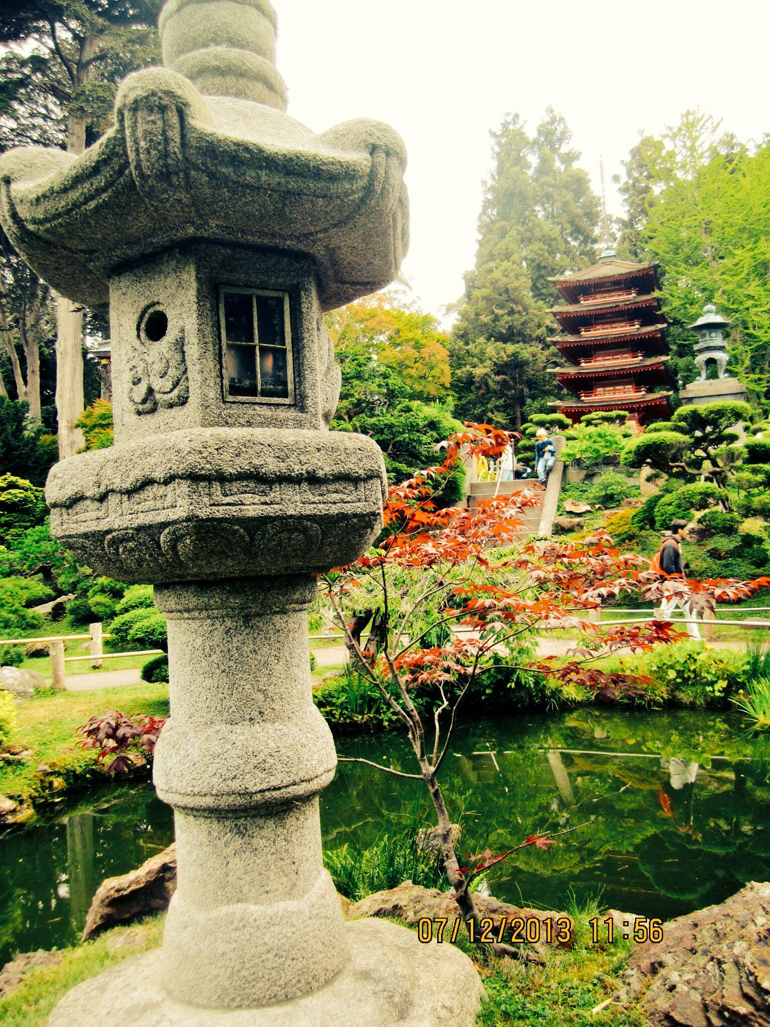 Japanese Tea Garden, San Francisco Japanese garden, Tea