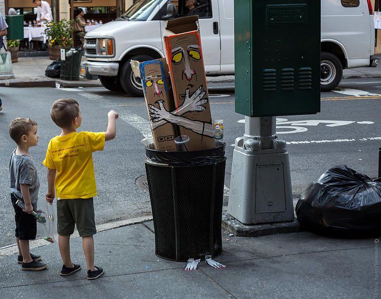new york city street art is trash