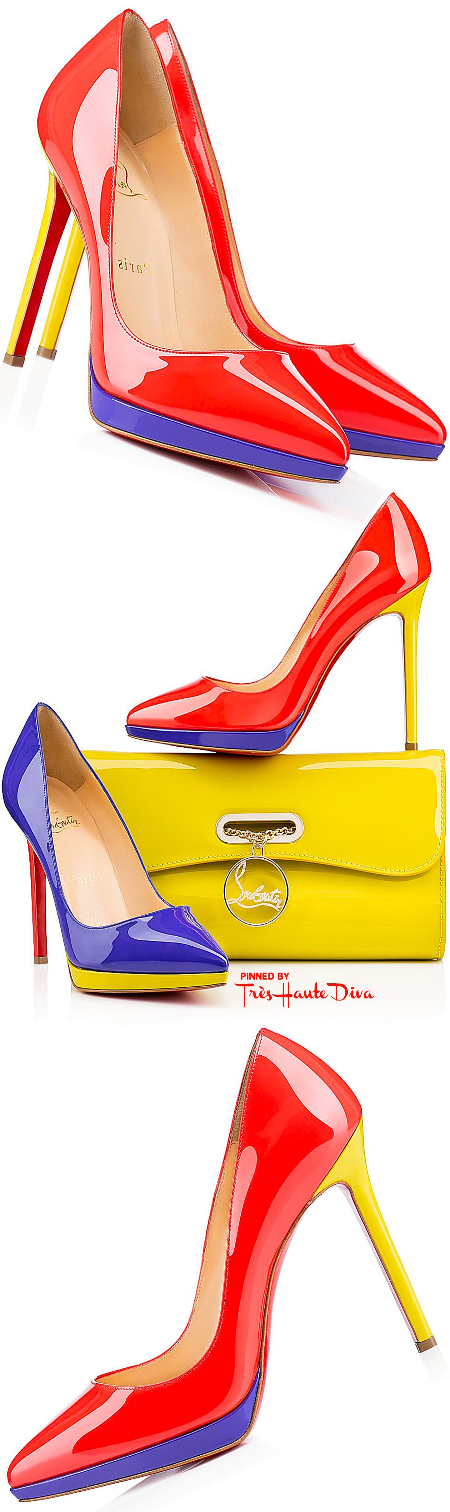Christian Louboutin 'Pigalle Plato' | The House of Beccaria#