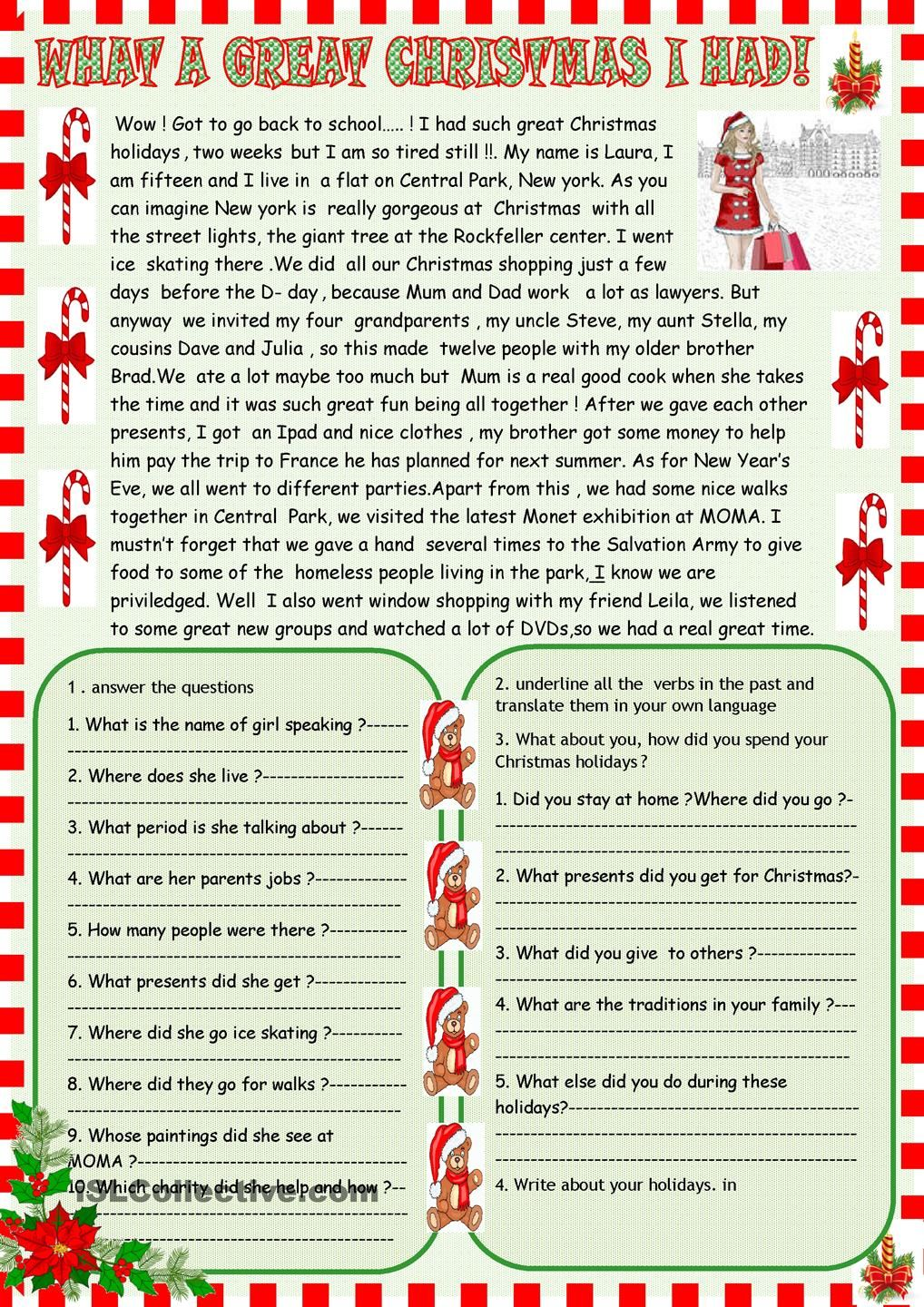 What A Great Christmas I Had Reading Christmas Pinterest