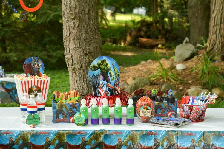 How to Host a MARVEL Avengers Birthday Party on a Budget Marvel