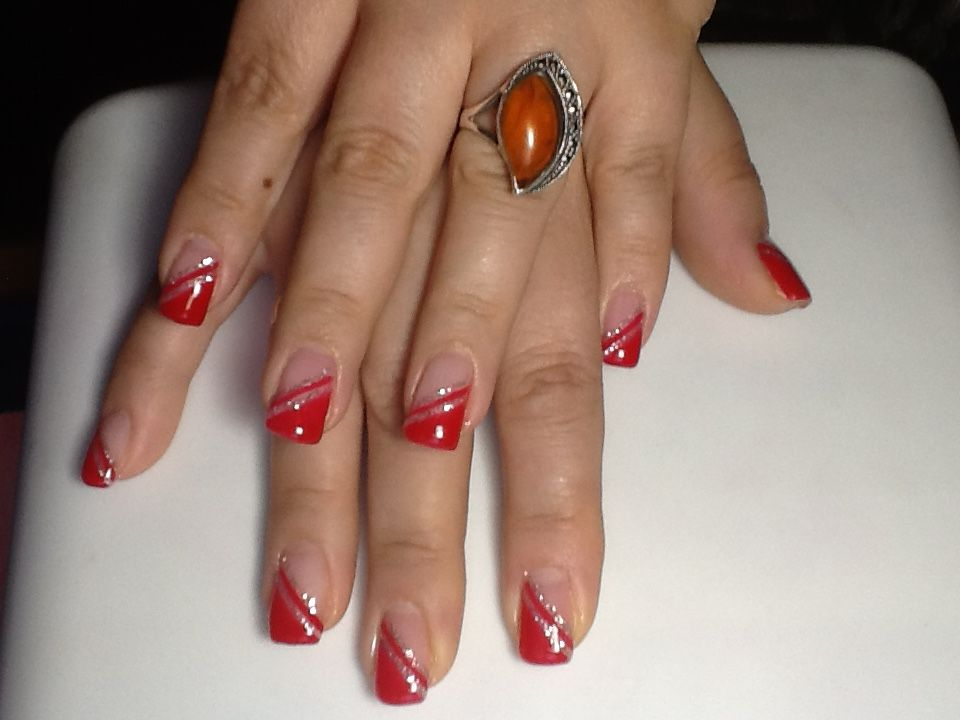 Red and silver!