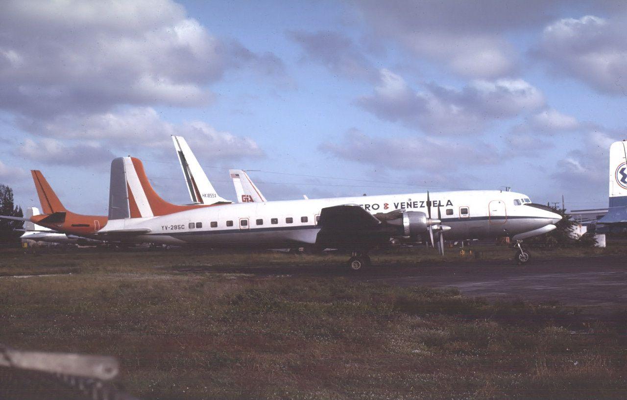 Douglas dcb yvc cn of aero b venezuela aviação
