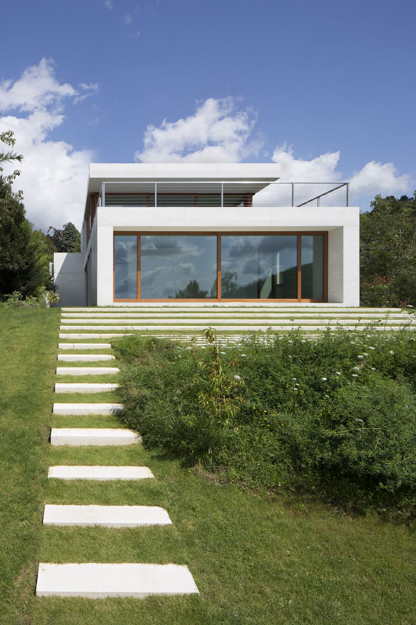 South elevation. Villa S, Schriesheim - Ian Shaw Architekten ...