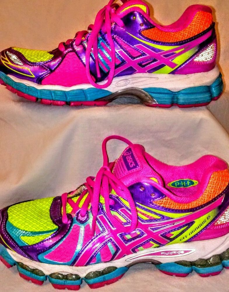 hot-selling professional top brands top-rated latest Asics gel-nimbus 15 womens size 6.5 bright running shoes ...