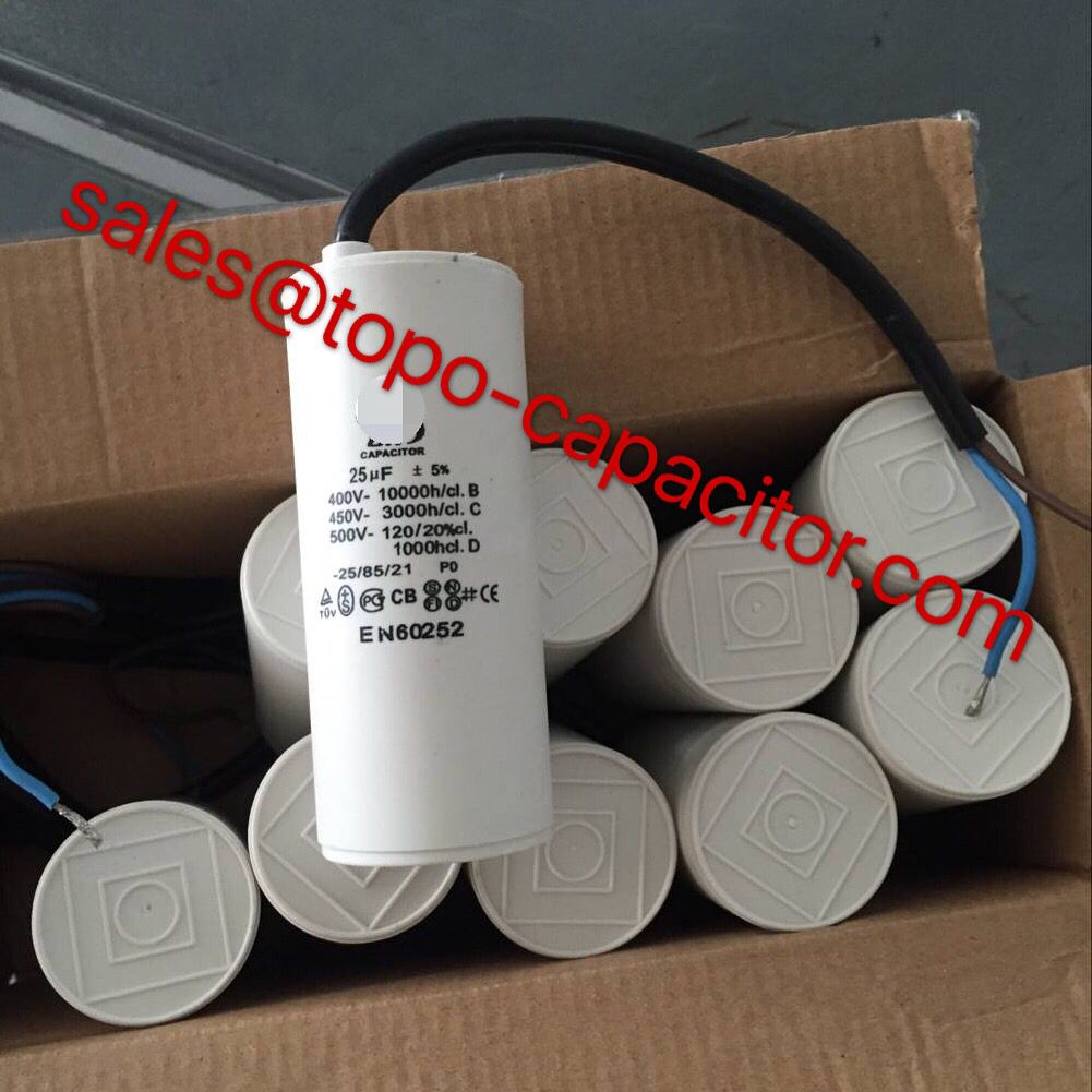 Motor Run Capacitors For Belgium 1mfd To 80mfd Cable Leads Double Faston Leads M8 12 Bolt Capacitors Led Running