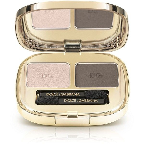 Dolce & Gabbana The Eyeshadow Duo (€40) ❤ liked on Polyvore featuring beauty products, makeup, eye makeup, eyeshadow, apparel & accessories and multicolor