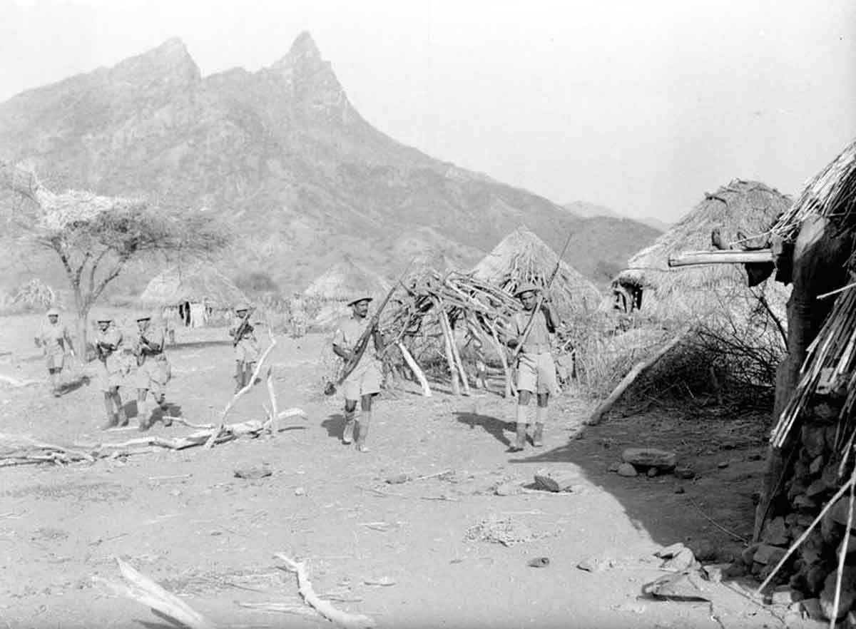 British Forces Enter Italian Eritrea Wwii Today North Africa East Africa North African Campaign