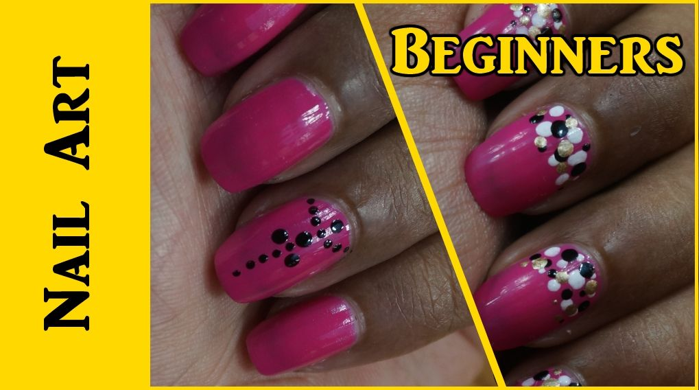 Easy Nail Art For Beginners 1 Art Tutorials Easy Nail Art And