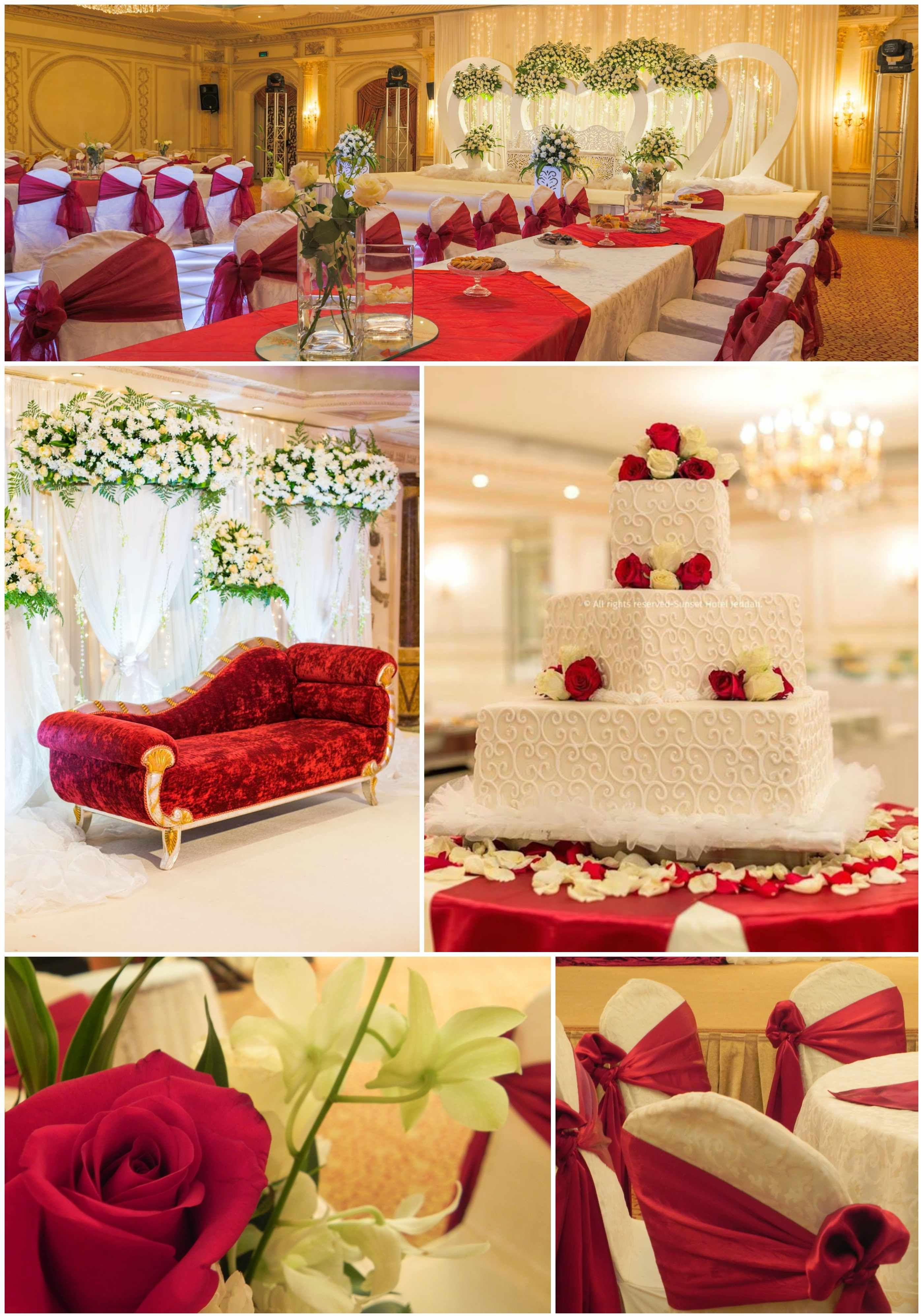 Red weddings at the sunset hotel jeddah bespoke weddings red weddings at the sunset hotel jeddah junglespirit Choice Image