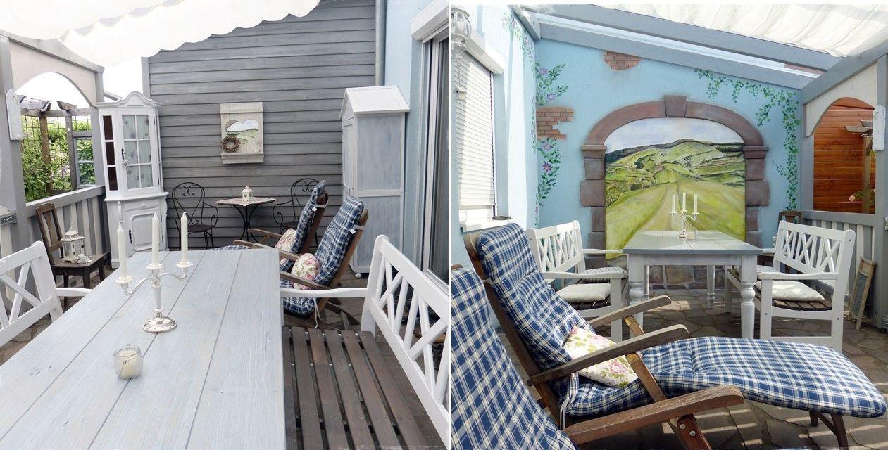 terrasse gestalten: die shabby chic terrasse als veranda | garten