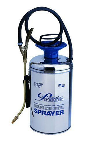 Chapin Premier Pro 2 Gallon Stainless Steel Sprayer 1253 By Chapin 79 99 Viton Seals And Gaskets 4 Position Nozzle Sprayers Chapin Stainless Steel Tanks