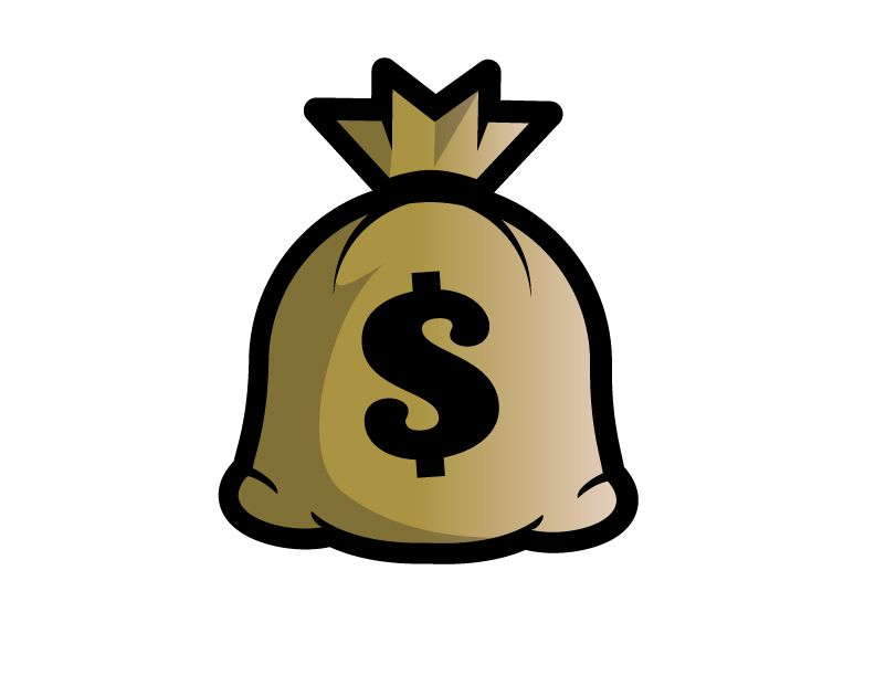 money bag clip art money bag pinterest bag and cartoon rh pinterest com bag of money clipart free