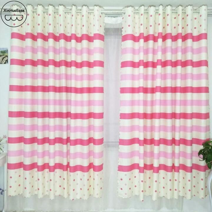 The Curtains In The Kitchen Short Curtain For The Children