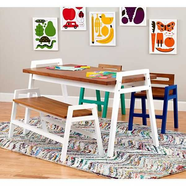 Stylish Childrens Tables And Chairs From The Land Of Nod Tables