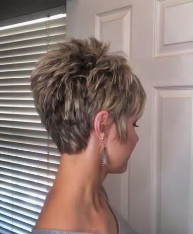 Deep Part Pixie wig