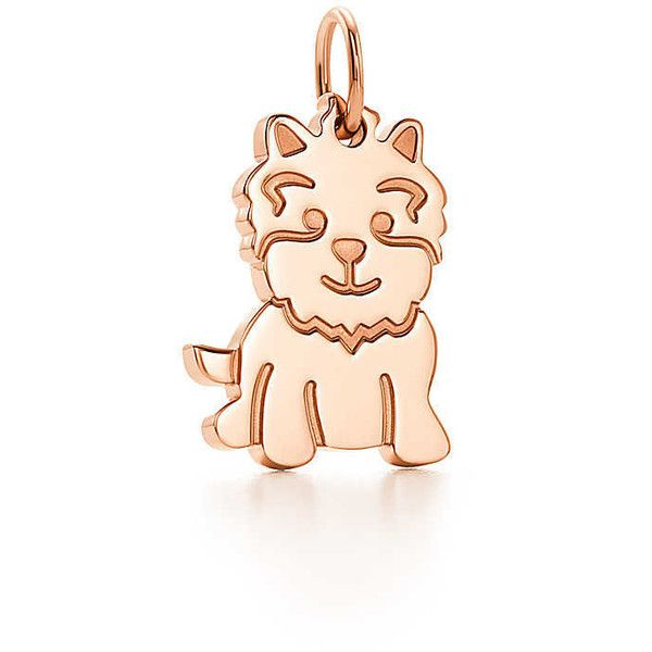 Tiffany Charms New Yorkie charm in 18k rose gold Tiffany Co