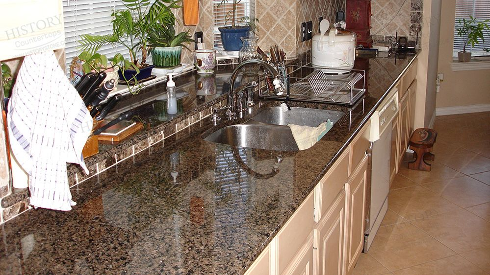 Best Imported Tropic Brown Kitchen Granite Countertops Wholesale