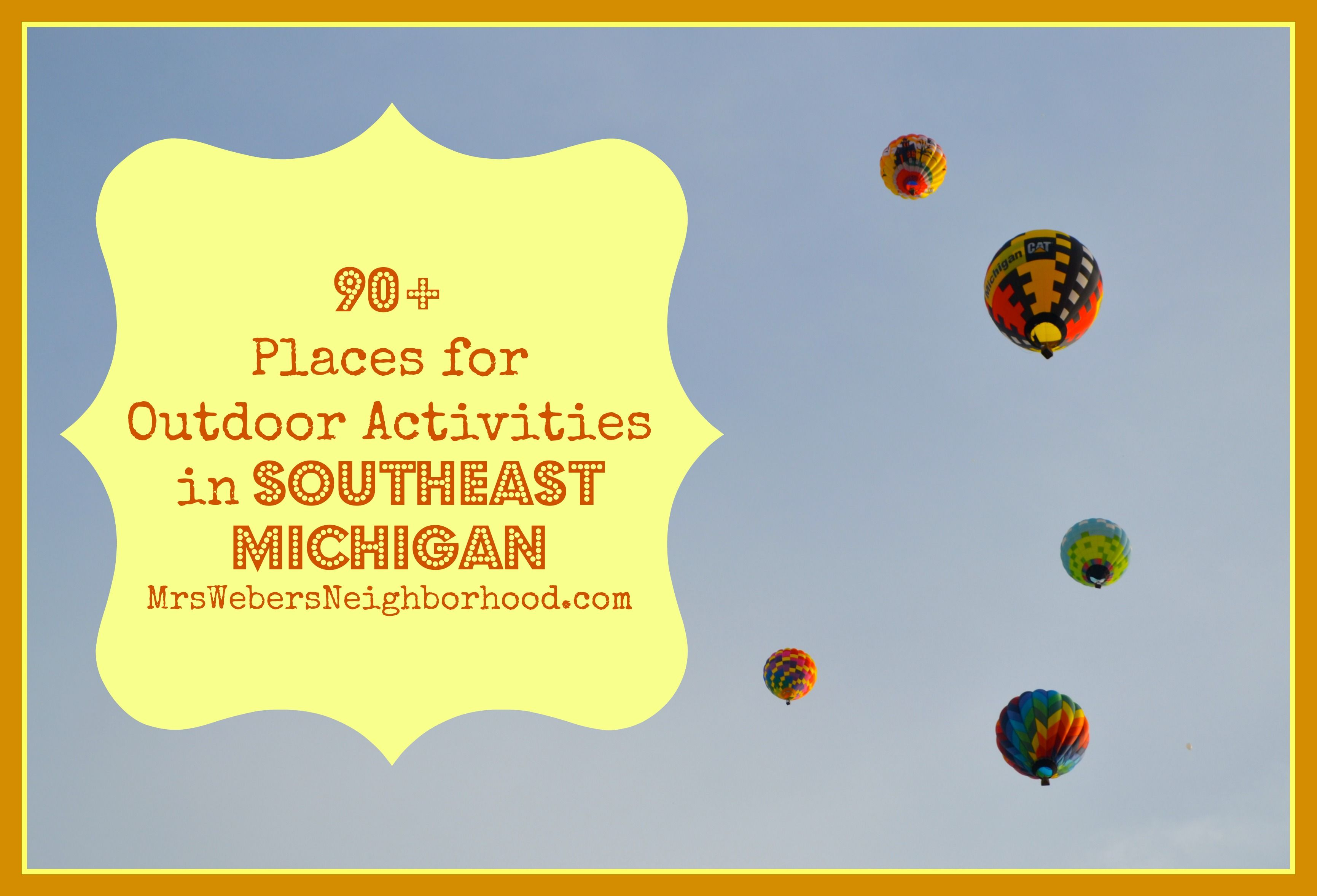 Start planning for summer with this big list of places for outdoor