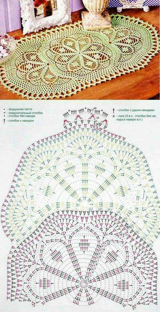 Pin de Gladis Piña en CROCHET | Pinterest | Carpeta, Ganchillo y ...