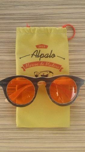 33bdac56d2 Anteojos De Madera Alpalo - Aloon Rojo | Alpalo Anteojos de madera ...