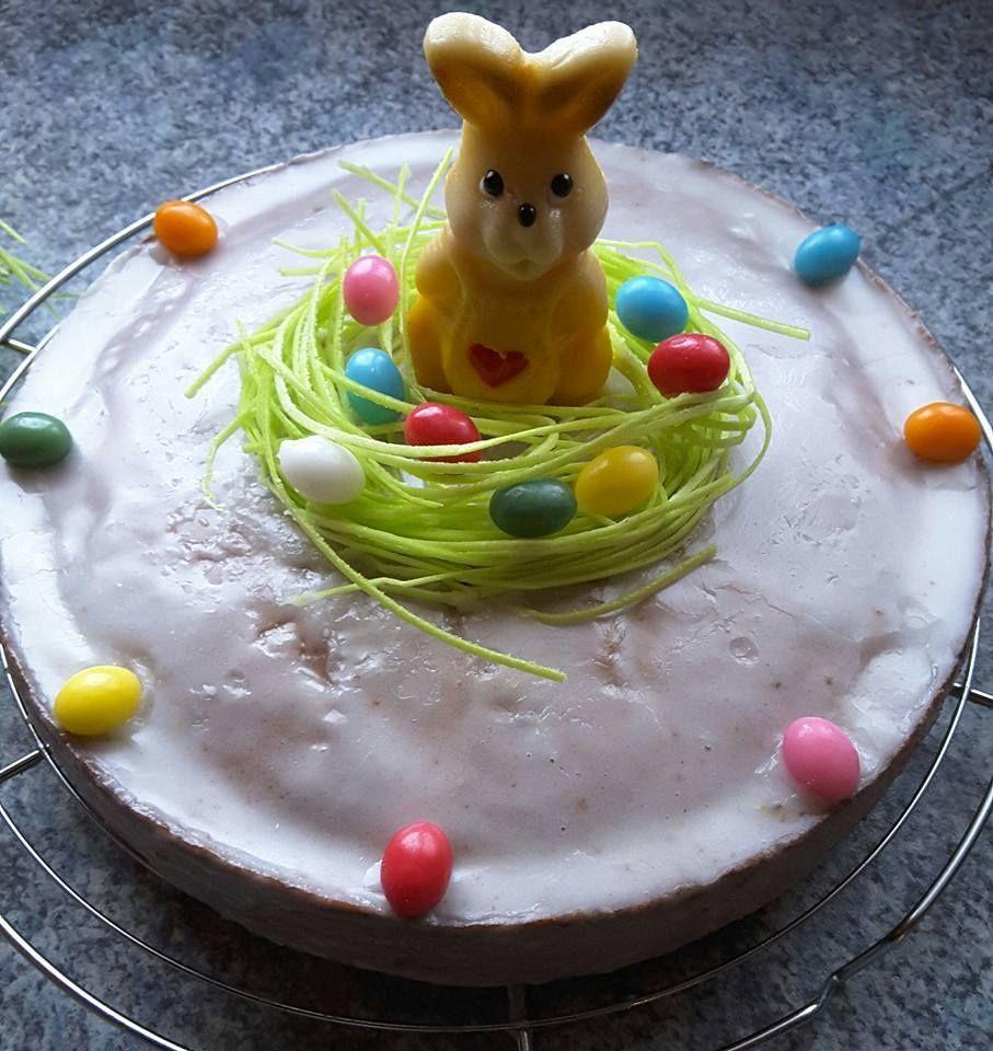Mohrenkuchen Mit Essbarem Osternest Saftig Nicht Nur Zu Ostern
