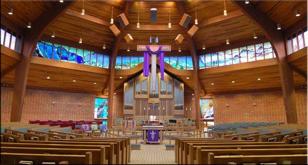 church sound system. first evangelical lutheran church sound system