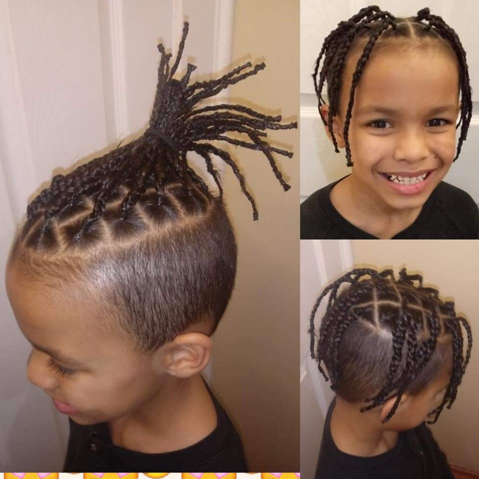 26+ Little boy braids with fade ideas