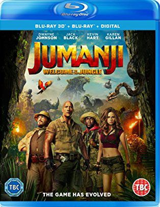 Image result for Jumanji Welcome To The Jungle (2017) bluray