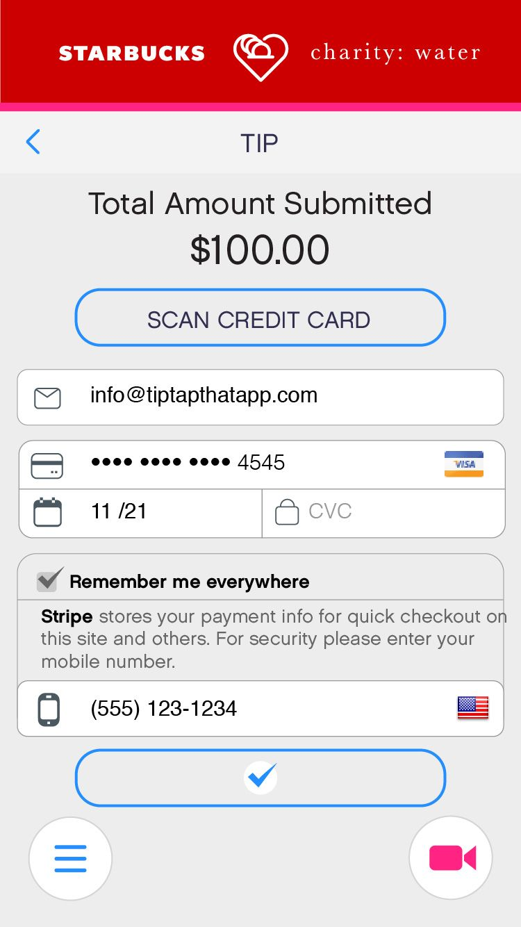 Flinto Tip Tap 2016 Stripes store, Tips, Cards