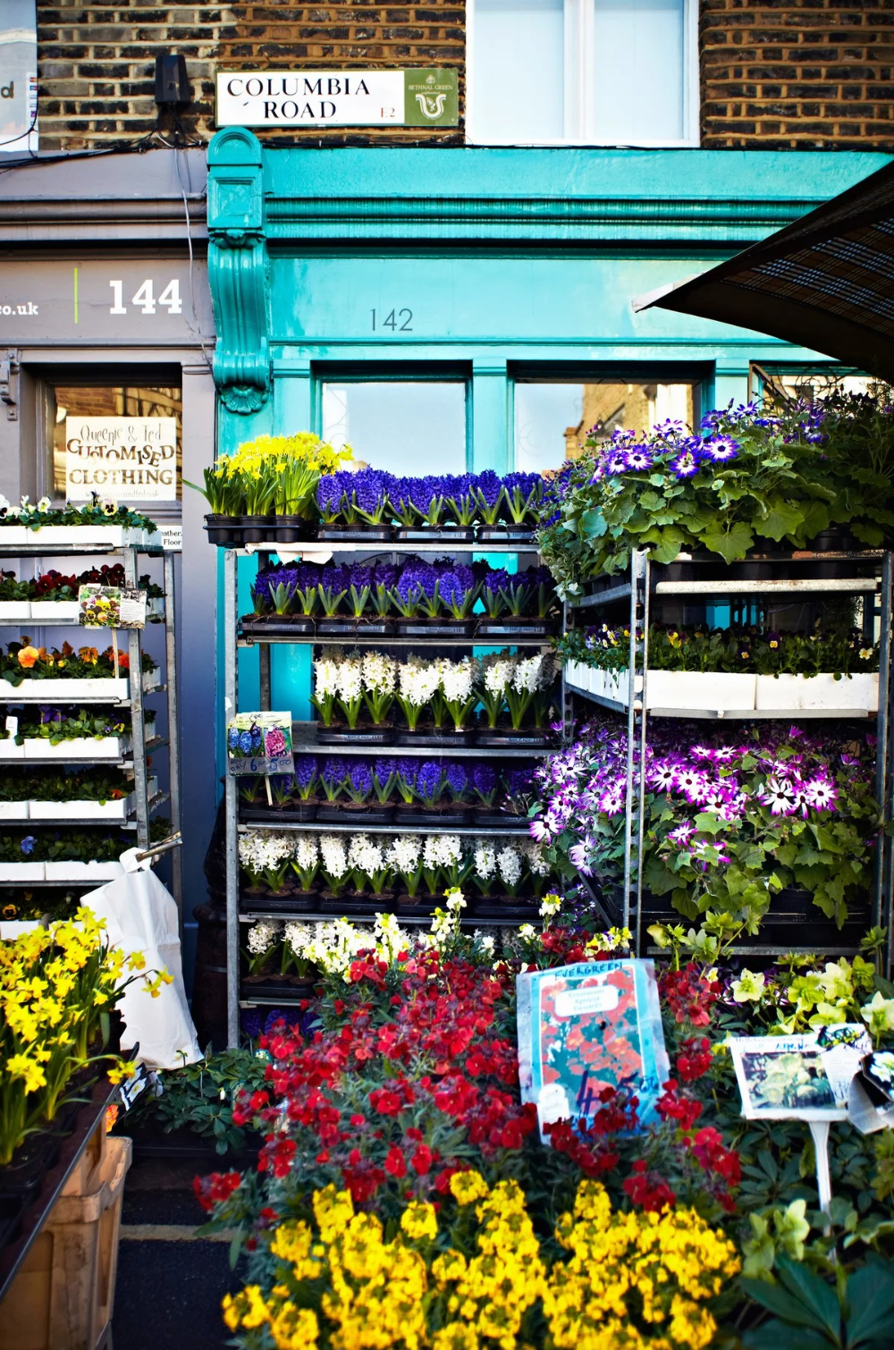 Columbia Road Flower Market London United Kingdom Market Review In 2020 Columbia Road Flower Market Things To Do In London Secret Places In London
