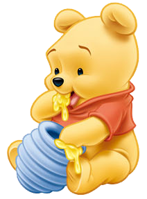 4ec53b1dd0fc Baby Pooh Eating Honey 2 Wallpaper Infantil
