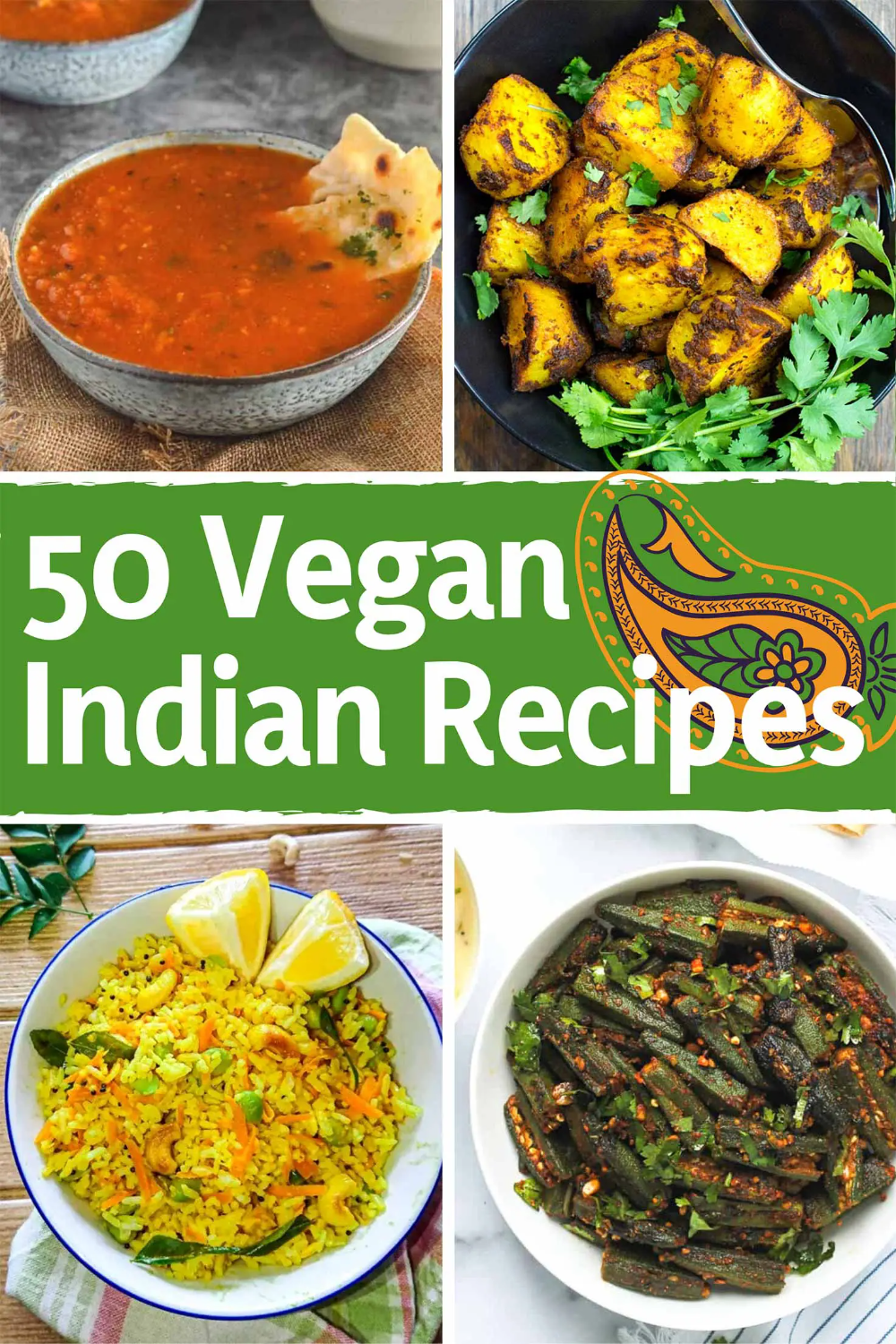 50 Vegan Indian Recipes From Comforting Meals To Showstopper Desserts Recipe Vegan Indian Recipes Indian Food Recipes Vegan Indian